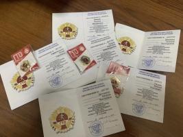 Преподаватели ГБПОУ КК НПТ в 2019 году принимали участие в комплексе ГТО