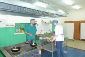 Практика будущих поваров