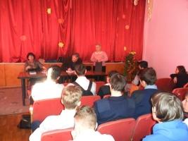Встреча с писателем Виктором Буравкиным