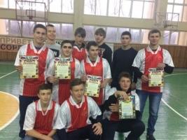 Команда ГБПОУ КК НПТ - победитель городских соревнований по гиревому спорту