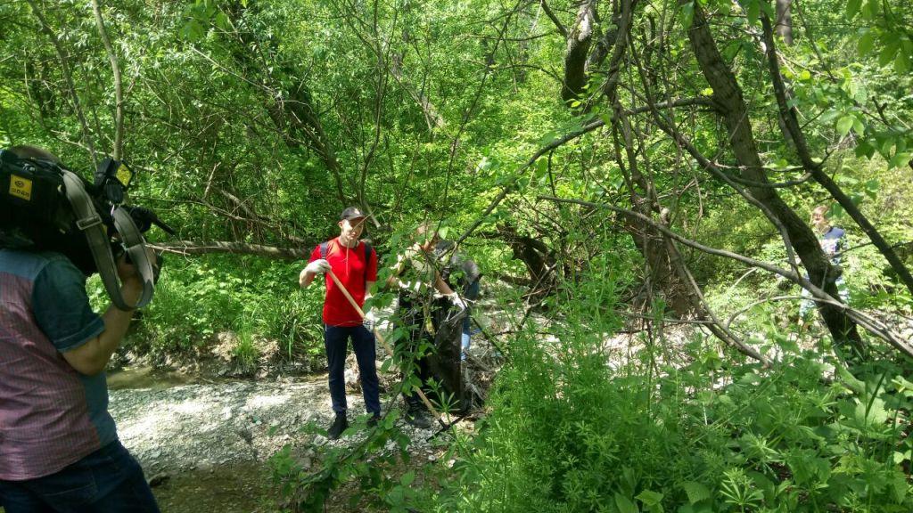 Экологическая акция «Эко-поезд волонтеров мира!»